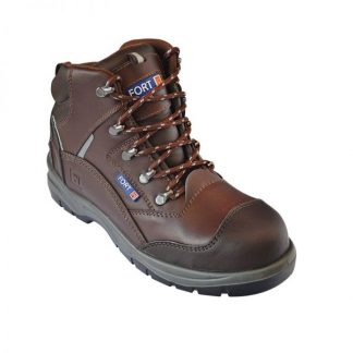 FF100 Knox Safety Ankle Boot Brown