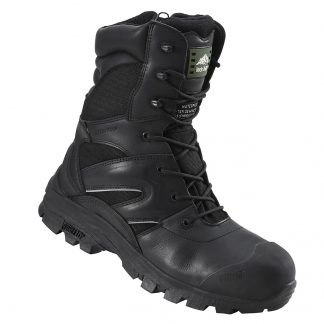 Rock Fall Titanium High Leg Boots